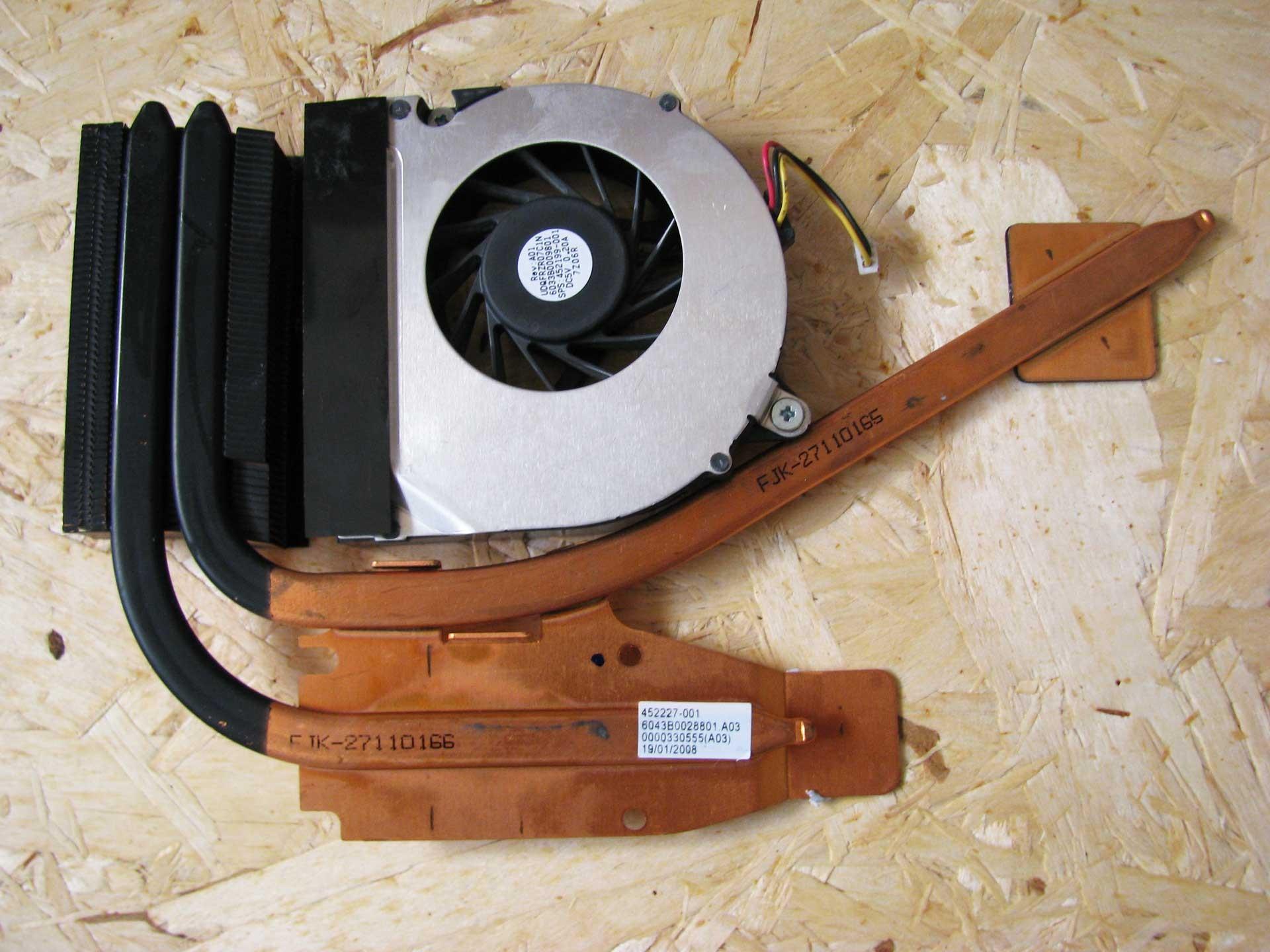 Dissipatore-e-ventola-HP-Compaq-8510W-452227-001